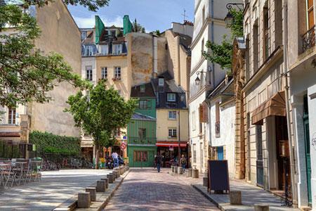 Paris-alley