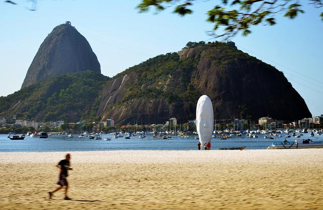 Botafogo-stranden i Rio