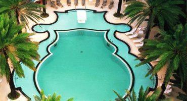 6 fantastiska hotellpooler att drömma om