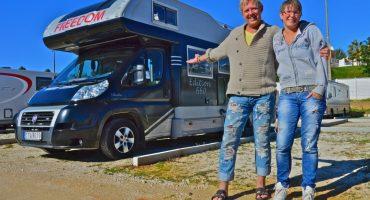 Månadens resenär – Helena, Peter och husbilen