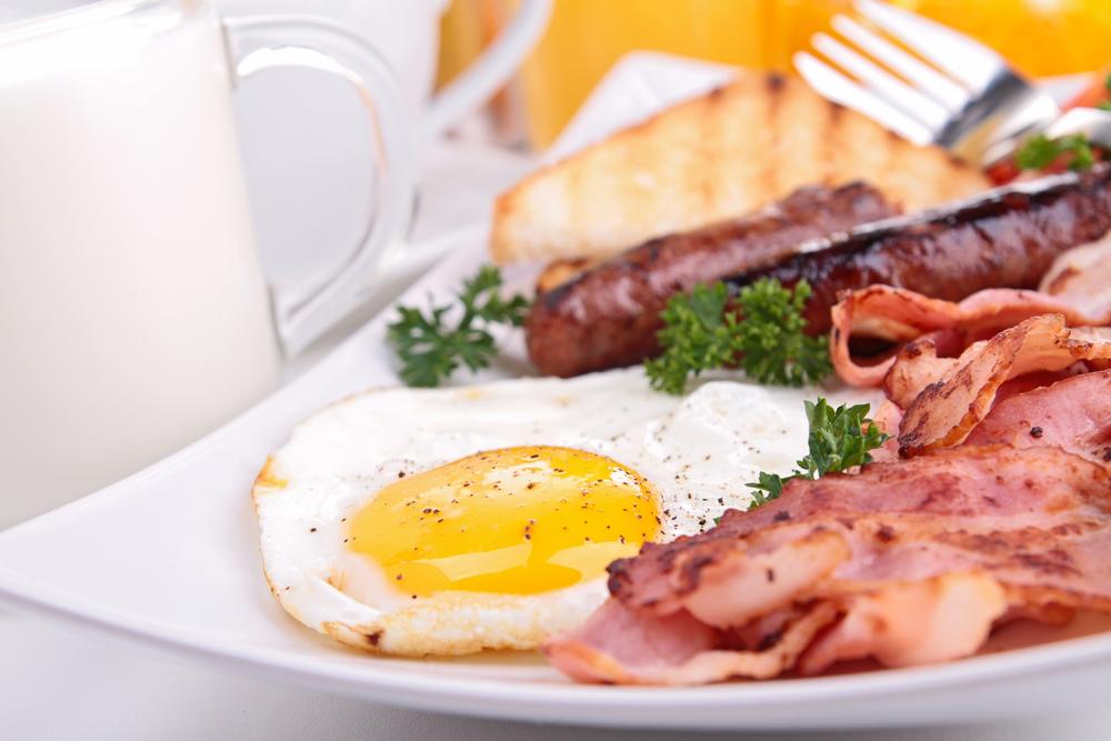 Cooked breakfast- engelsk frukost
