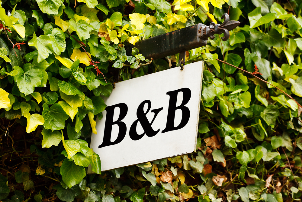 b&b (skylt)