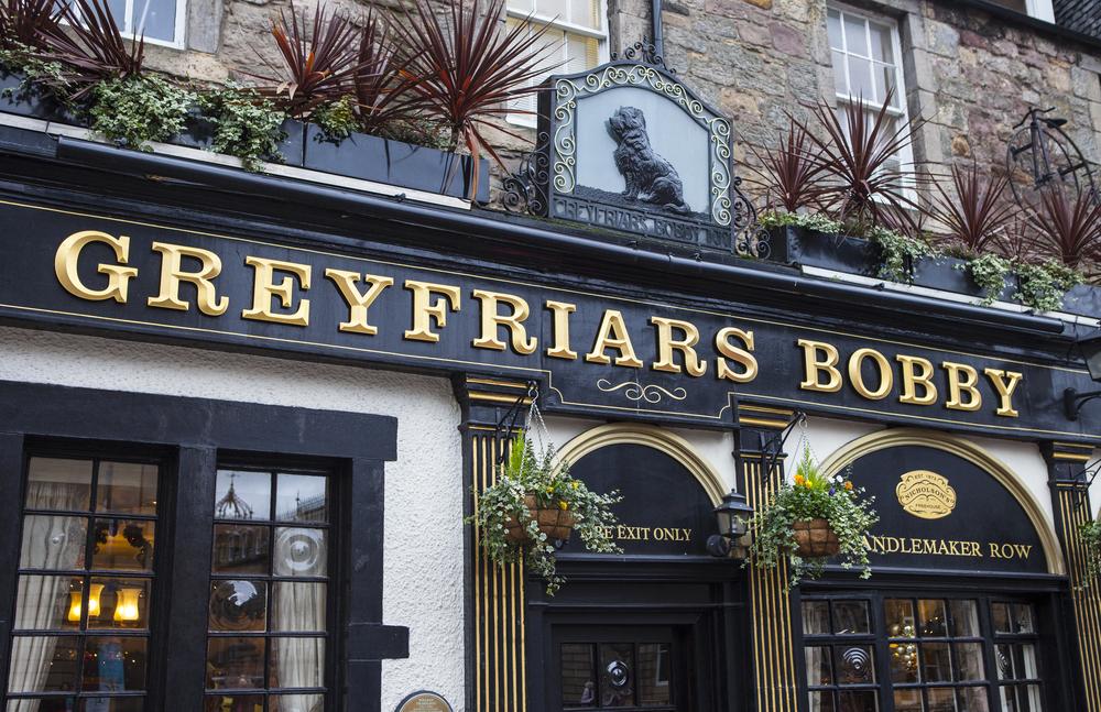 "Skotsk pub- ""Greyfriar's Bobby"""