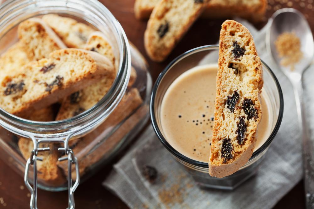 Biscotti, italiensk dessert.