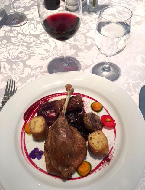 Middag i Pecs, Ungern.