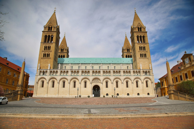 Katedralen i Pecs, Ungern.