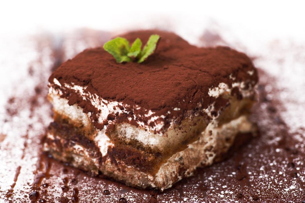 Tiramisu, italiensk dessert.