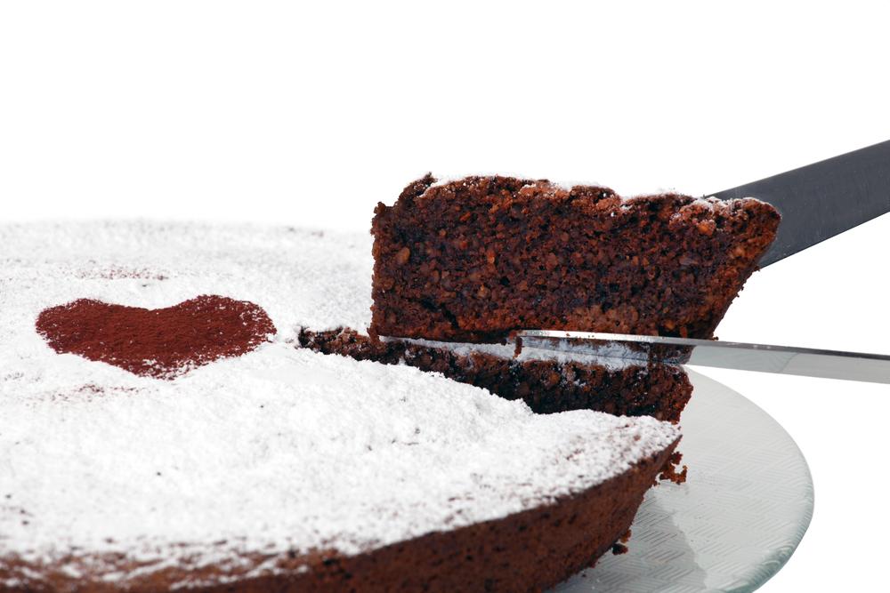 Torta Caprese, italiensk dessert.
