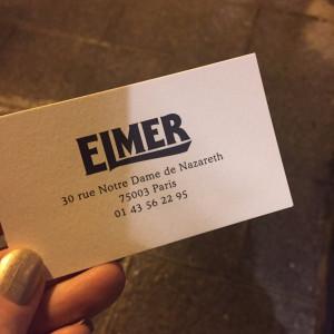 Adress till Elmer i Paris