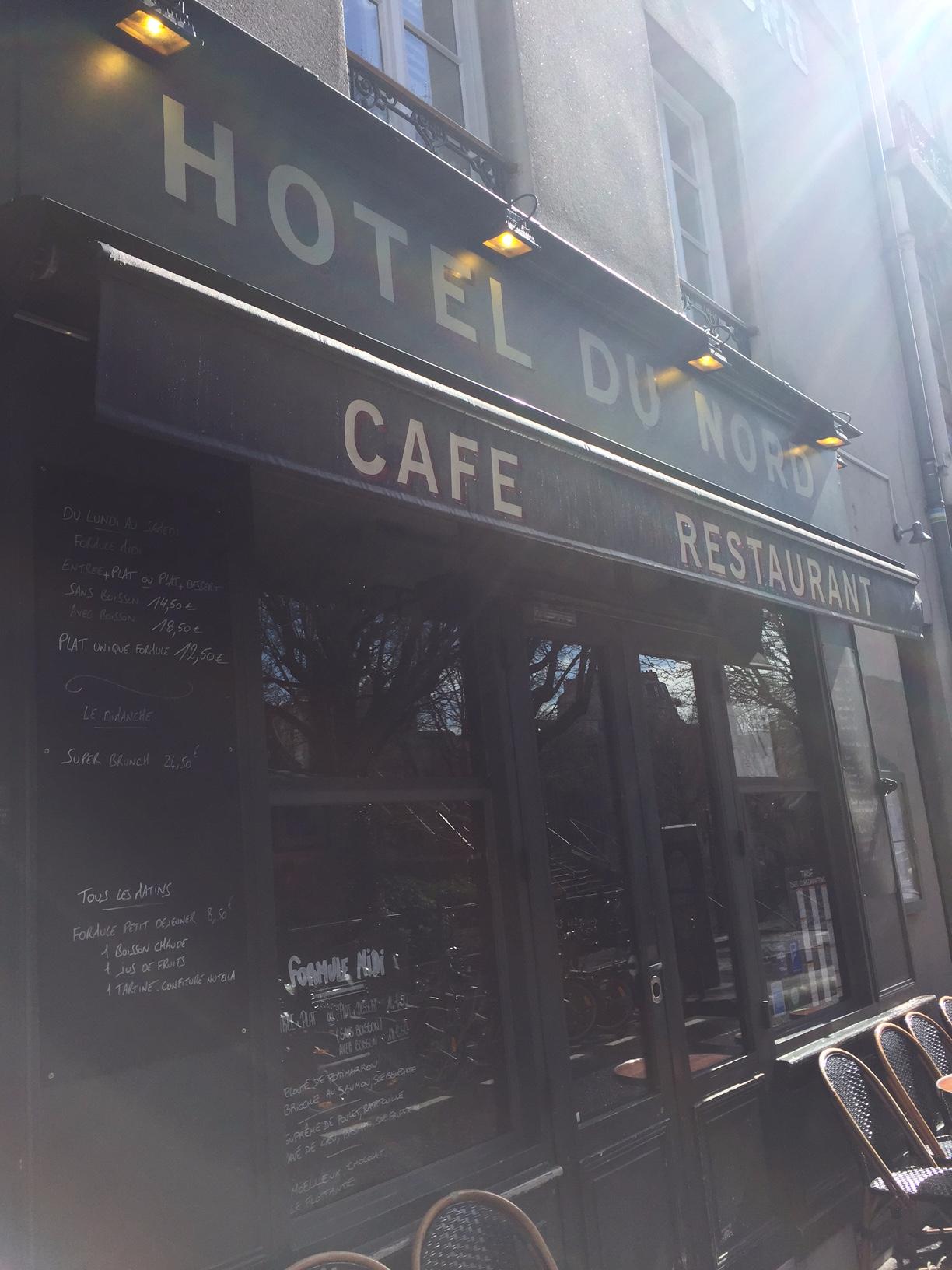 Hotel du Nord i Paris