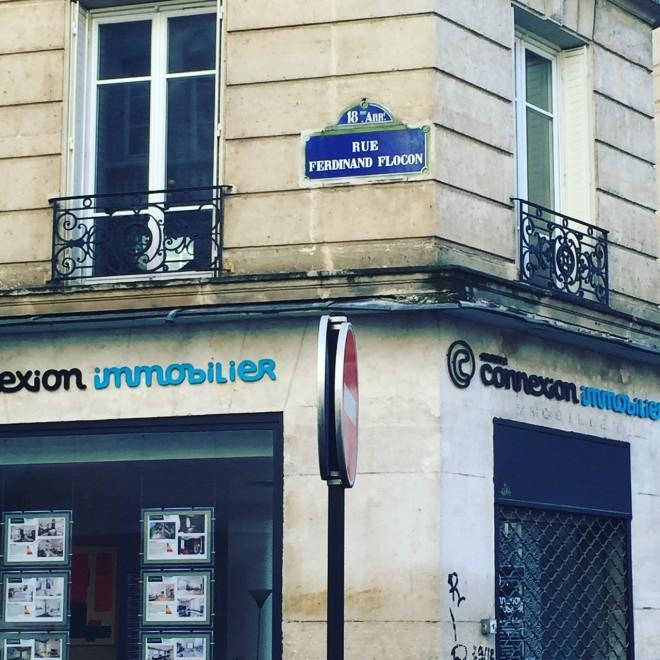 Rue Ferdinand Flocon i Paris