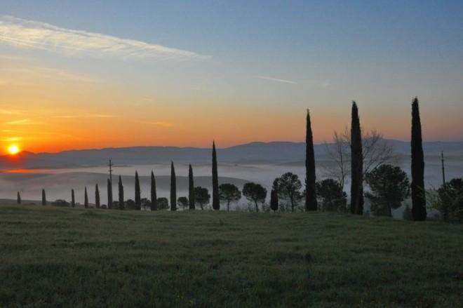 Val D'orcia, Toskana