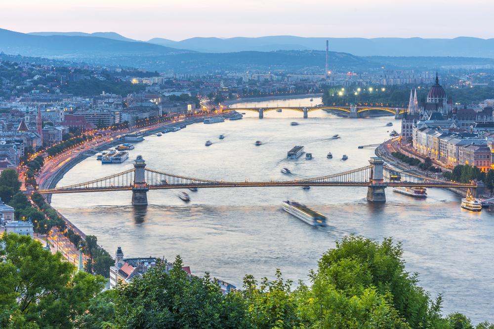 budapest skyline