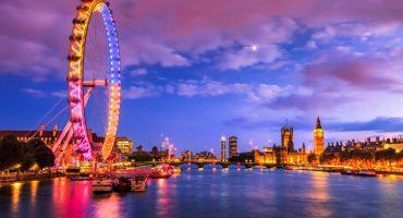 På konstrunda i London