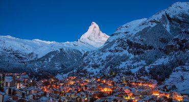 Toppar och dalar för skidälskare i Europa