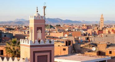 Tre vattenhål i Marocko