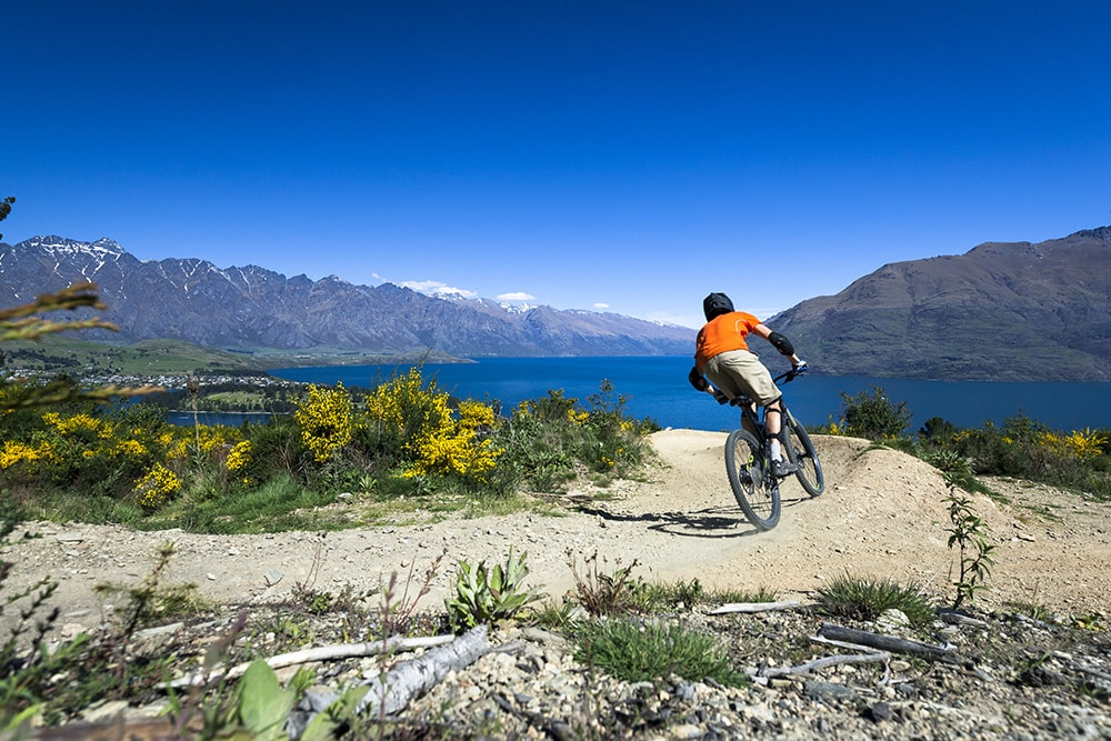 queenstown mountainbike resa ensam